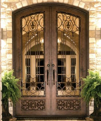 Iron Doors Doors And Entry Doors On Pinterest