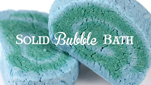 This recipe for solid bubble bath creates luxurious bubbles for an amazing bath experience. Watch the easy to follow, step-by-step video to learn how.