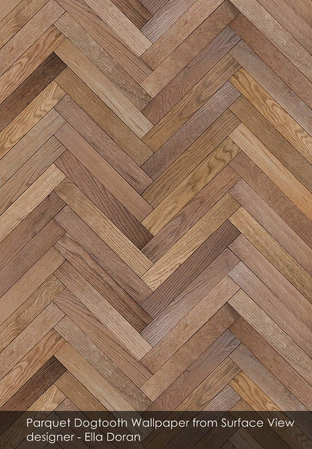 Parquet Dogtooth Wallpaper From Surface View Wood In