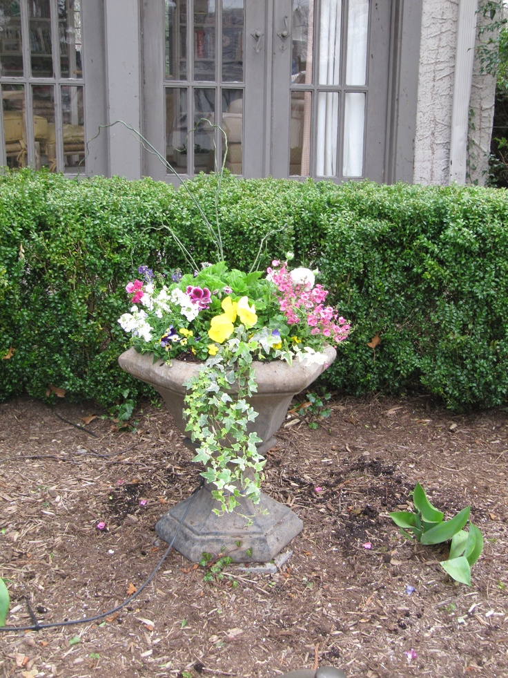 Spring 96 best Spring Planters images on