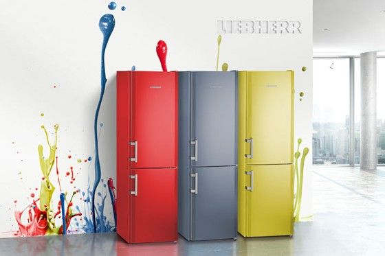 Liebherr ColourEdition: An inspirational range of colours (water blue, avocado green and fired red)