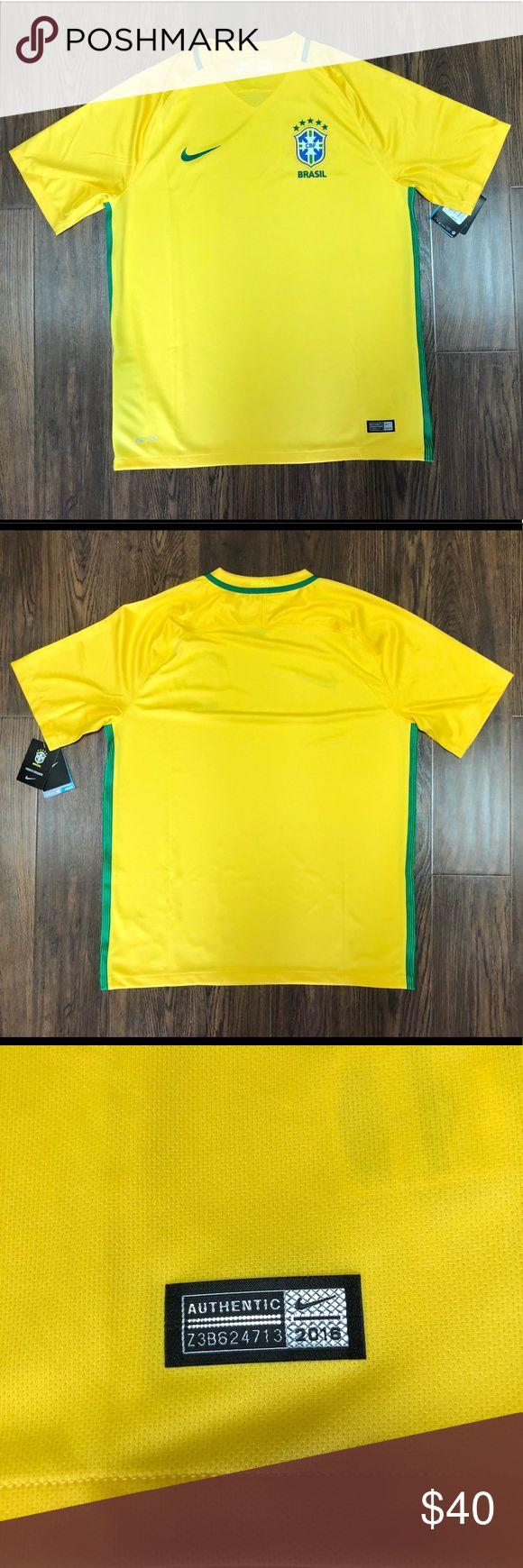 Nike Men's CBF Brasil 2016 Soccer Jersey Brand new with tags Nike Shirts Tees - Short Sleeve