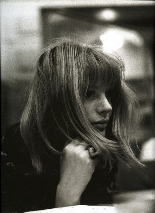 Marianne Faithfull. I love this image.