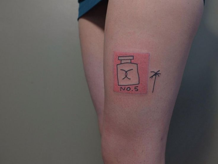 Цветочные татуировки