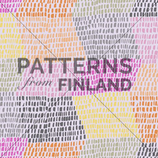 Kahandi Design: Rytmi – Kori #patternsfromagency #patternsfromfinland #pattern #patterndesign #surfacedesign #kahandidesign