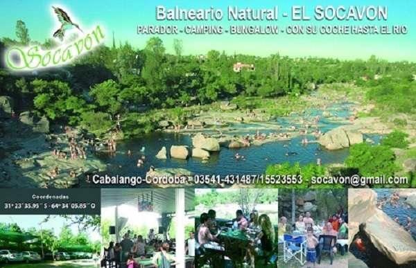 El Socavón: Cabañas Balneario natural, Camping, Parador. Campamentos. Bungalows El SocavónBalneario natural, camping, parador. Campamentos. Bungalows.Resto-bar, ... http://villa-carlos-paz.evisos.com.ar/el-socavon-cabanas-balneario-natural-camping-parador-campamentos-1-id-918395