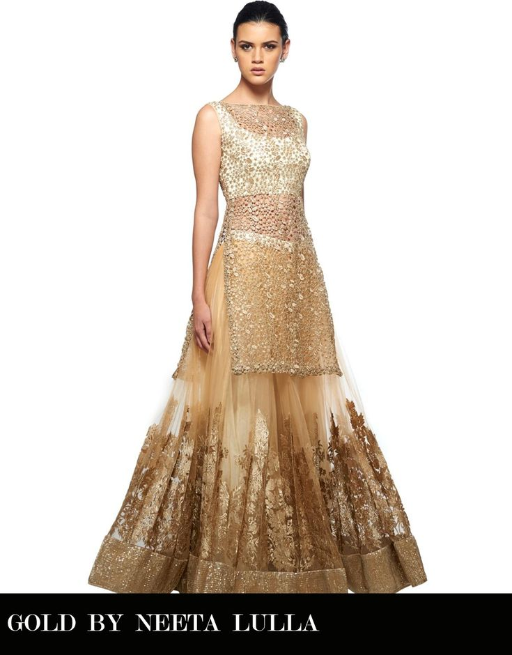 Want to wear a lehenga but afraid of tummy fat? Get a sheer cover up like this. This plus the dupatta will give you enough coverage.
