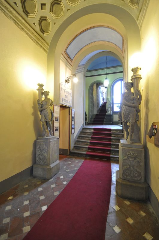The entrance - Viti Palace, Volterra, Tuscany