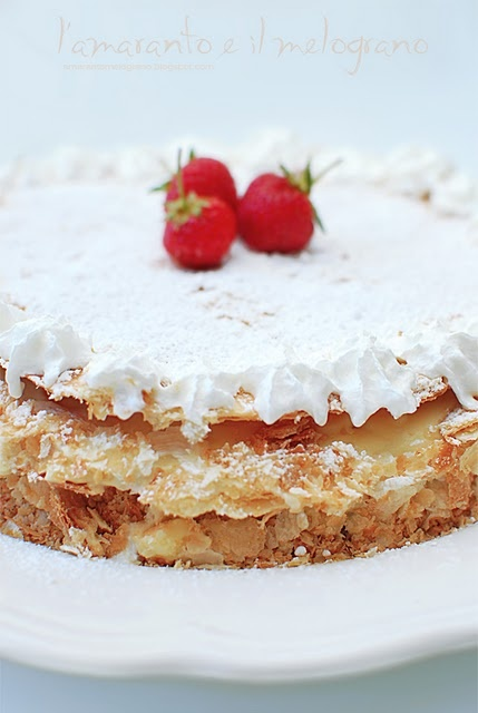 strawberry chantilly cream cake