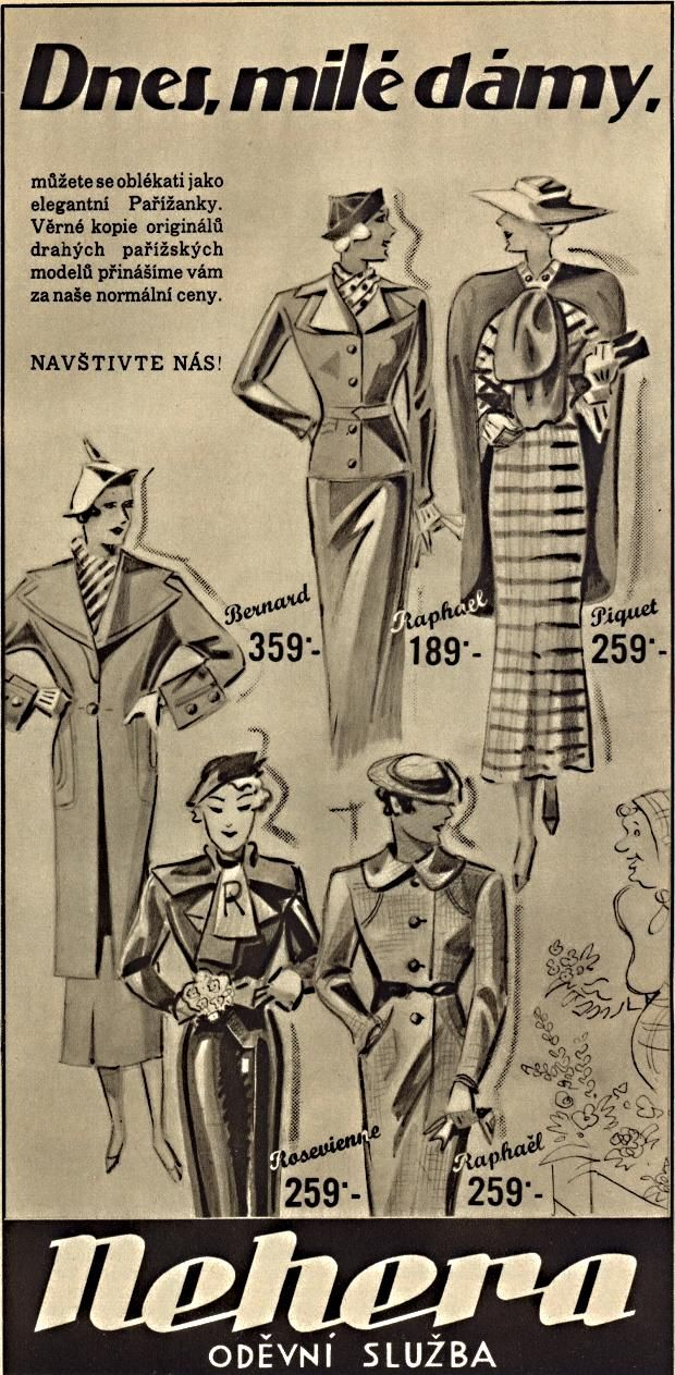 Reklama Nehera 1935