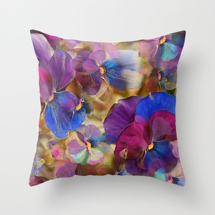 Buy Floral abstract (74) Throw Pillow by maryberg. Worldwide shipping available at Society6.com. Just one of millions of high quality products available.
