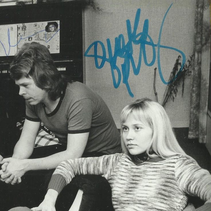 Photos of Agnetha and Björn together   ABBAChat