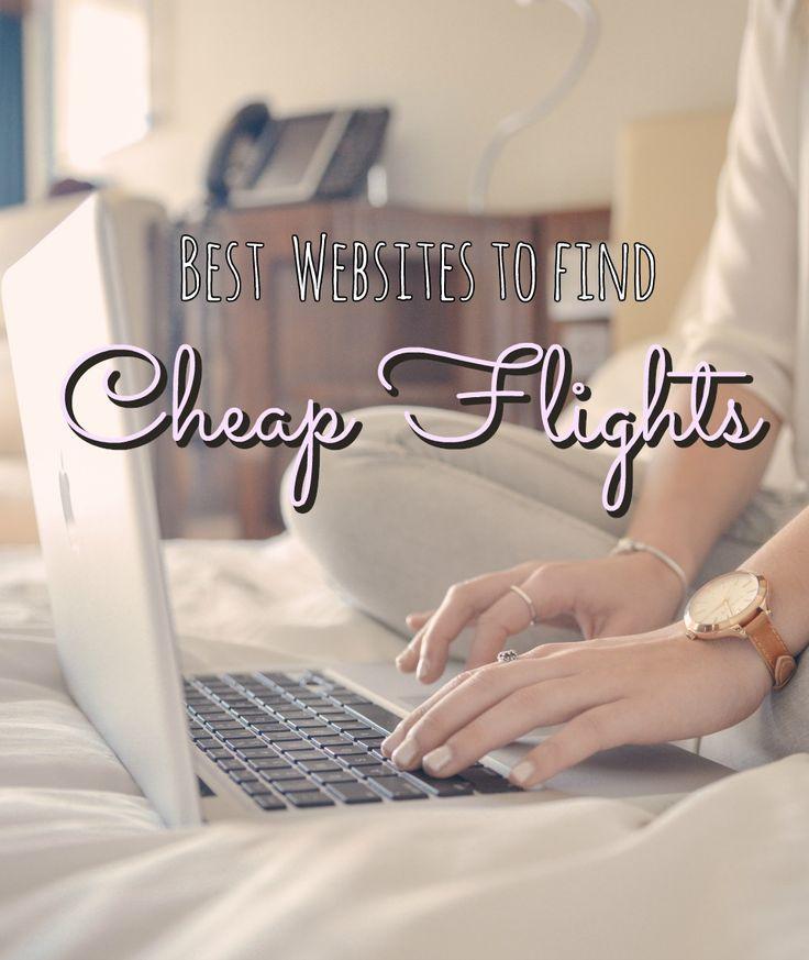 The best websites to find CHEAP FLIGHTS!