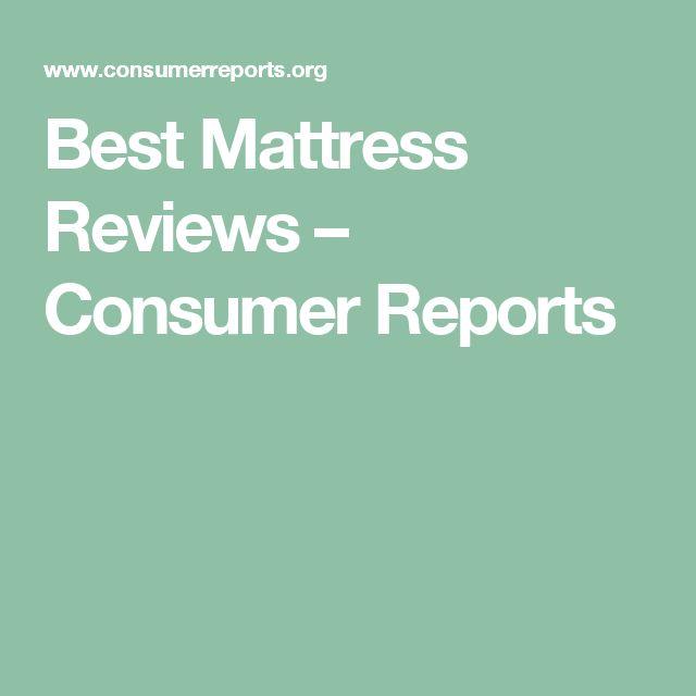 Best Mattress Reviews – Consumer Reports