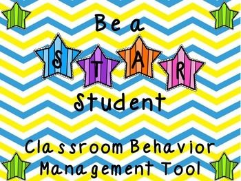 """""""STAR"""" student is a behavior management tool I use in my classroom. Within this packet there are posters to display what it means to be a STAR student; along with definitions for each letter in STAR. Student mini books and worksheets that allow students to understand how a STAR"""