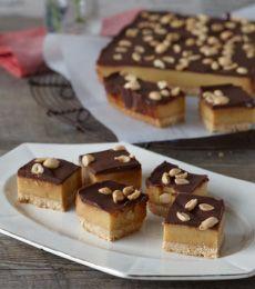 Cadbury Salted Caramel Choc Peanut Slice Recipe