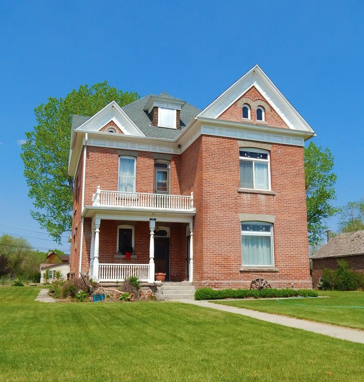 9 Best Historic Red Brick Homes In Panguitch Images On