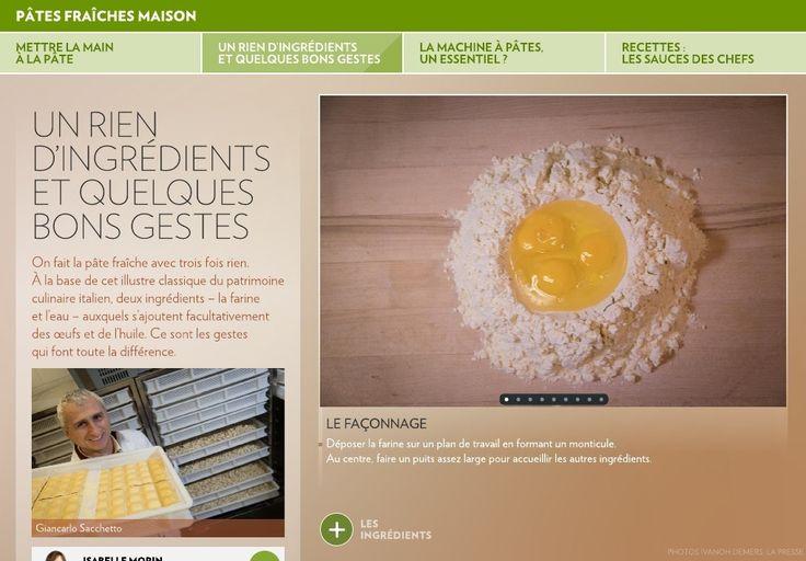 Mettre la main à la pâte - La Presse+