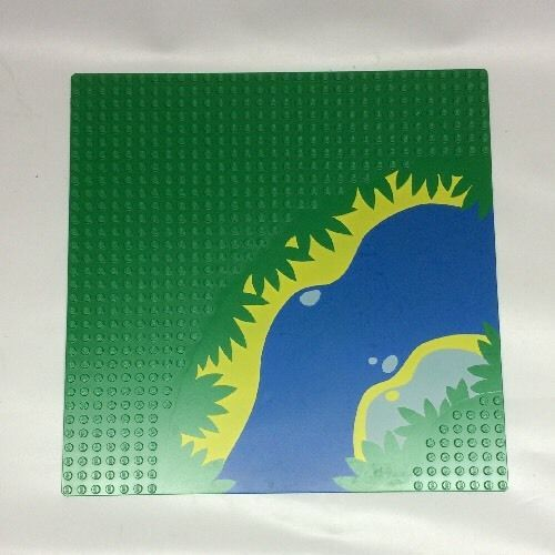 Pattern Lego Base plate #2359px3 From Sets 6278 , 6292 Green River #LEGO
