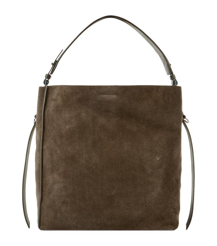 ALLSAINTS . #allsaints #bags #leather #hand bags #tote #