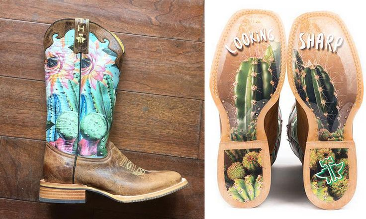 Look Sharp And Get Your Cowgirl On With Tin Haul Cactus Boots - COWGIRL Magazine