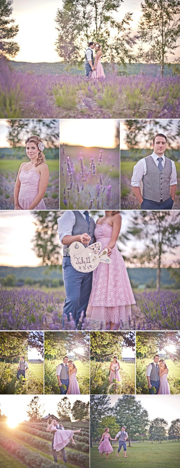 Montreal Wedding And Engagement Photography   Lavender Fields Stanstead Quebec