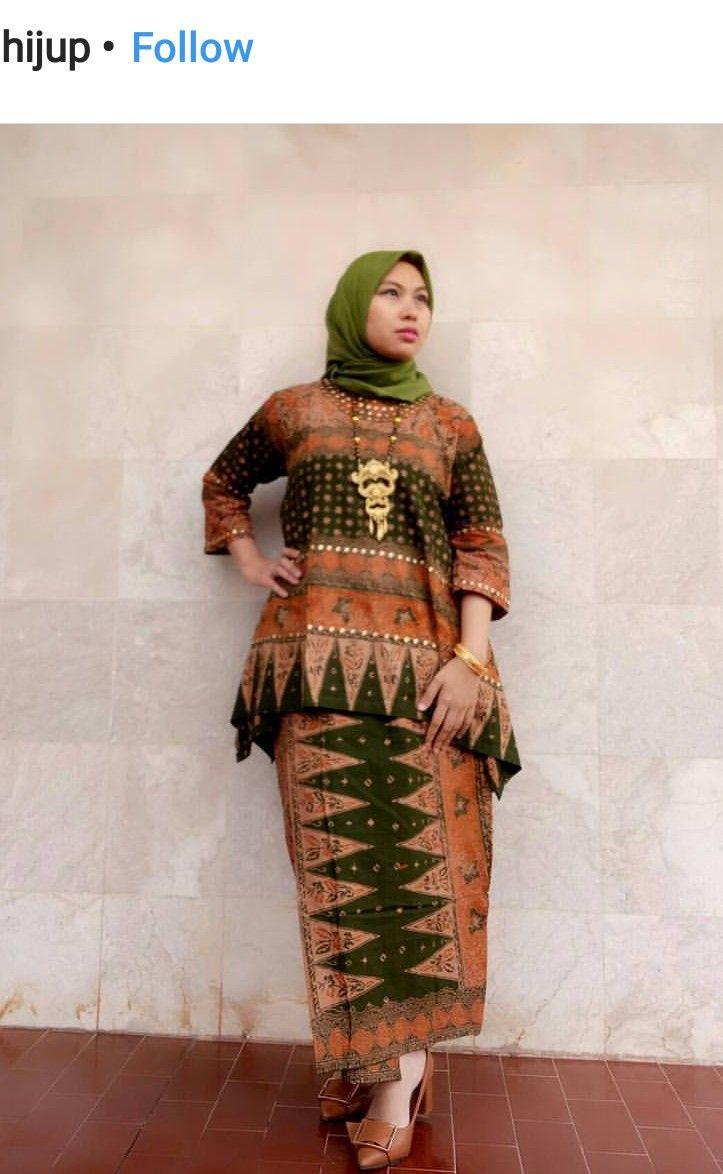 Baju Batik Palembang