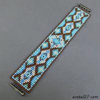 esquema de cuentas de abalorios patrones para tejer