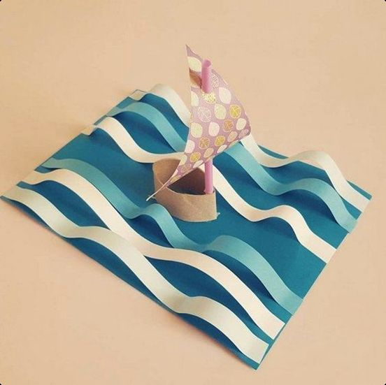 christmas gifts for boat owners | キッズクラフト, 紙皿でハンドメイド