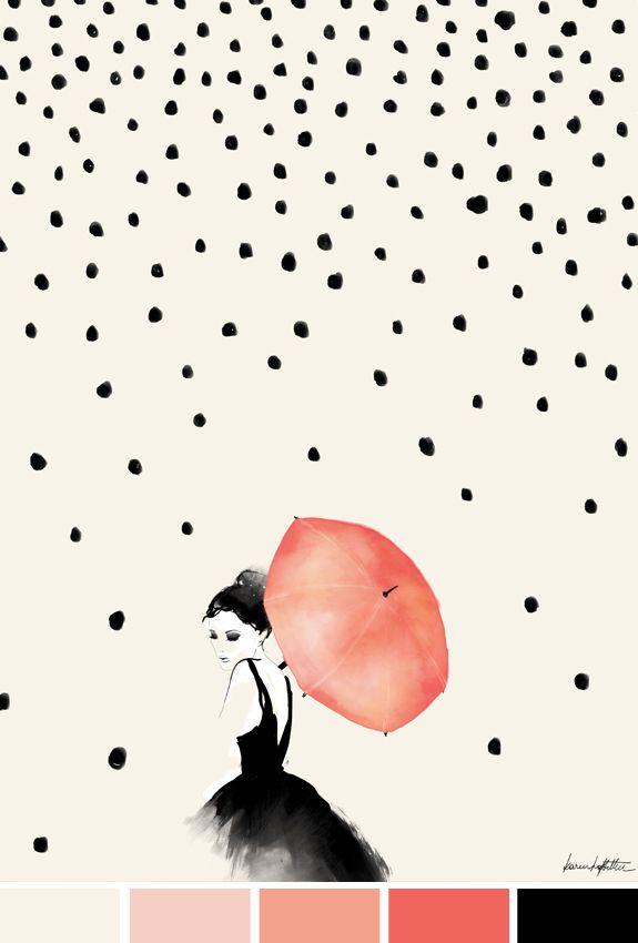 Chuva de poás, por Karen Hofstetter