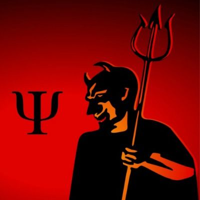 Click on image or see following link to find out if the psychology symbol is really related to the trident carried by the devil. http://www.all-about-psychology.com/psychology-symbol.html #psychology