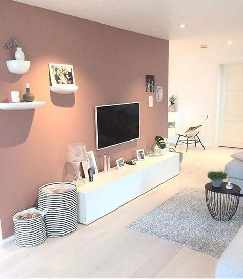 Living Room With Tv Background