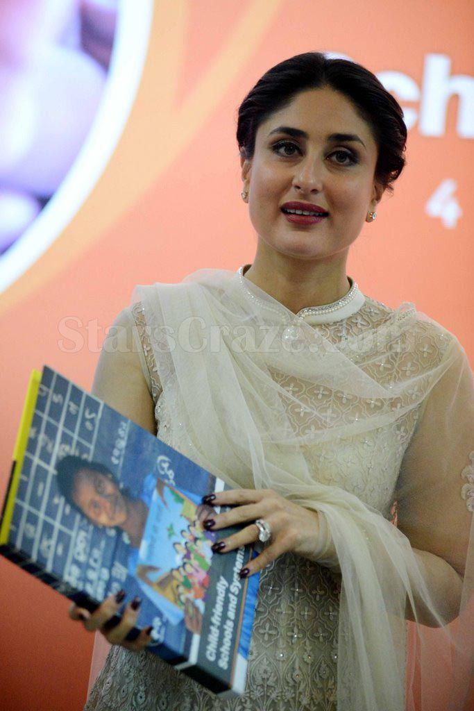 UNICEF Celebrity Advocate Kareena Kapoor Launches The Child-Friendly School | StarsCraze