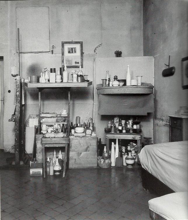 Giorgio Morandi's Studio at Casa Morandi/Bologna
