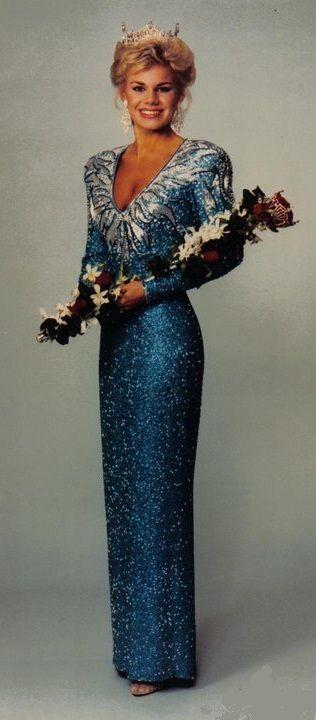 Miss América 1989 - Gretchen Elizabeth Carlson - Minnesota