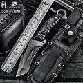 HX на открытом воздухе Высокое качество тактический нож multi tool surface plated titanium Исправлена черный Нож Отдых На Природе Инструмент выживания охота ножи купить на AliExpress