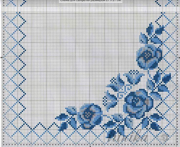 Gallery.ru / Фото #12 - цветы. схема на 1 лист - irinika