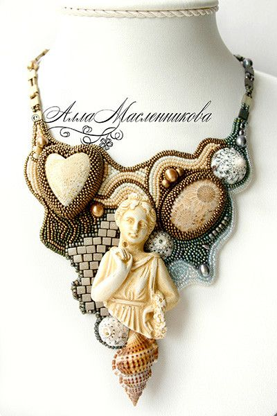 Magic jewellery by Alla Maslennikova | Beads Magic