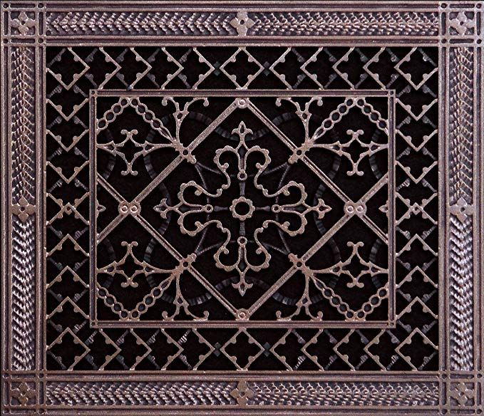 Decorative Grille, Vent Cover, or Return Register. Made of