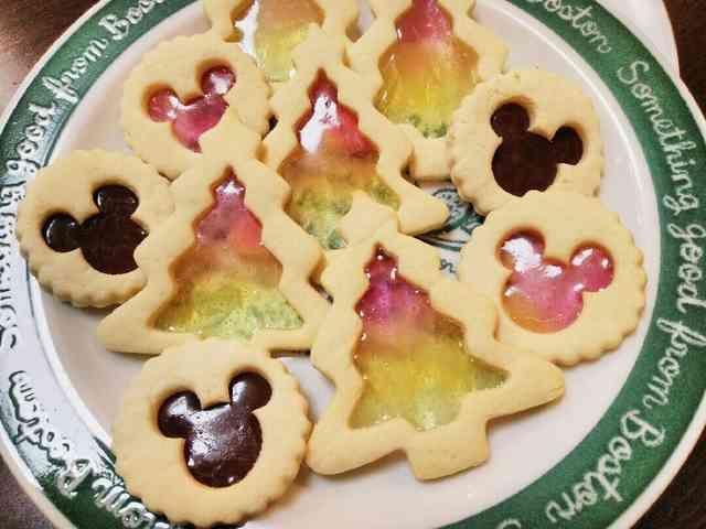 クリスマス★魅惑のステンドグラスクッキーの画像