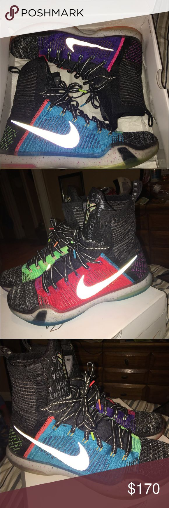 Nike What The Kobe 10 Great condition worn about 5 times no major flaws Nike Shoes Sneakers