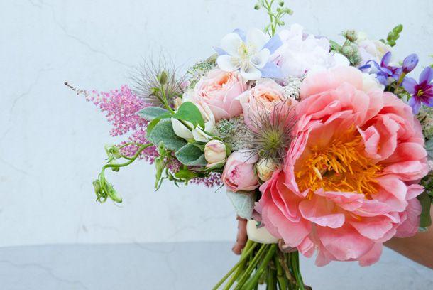 summer/ wedding / paeonia