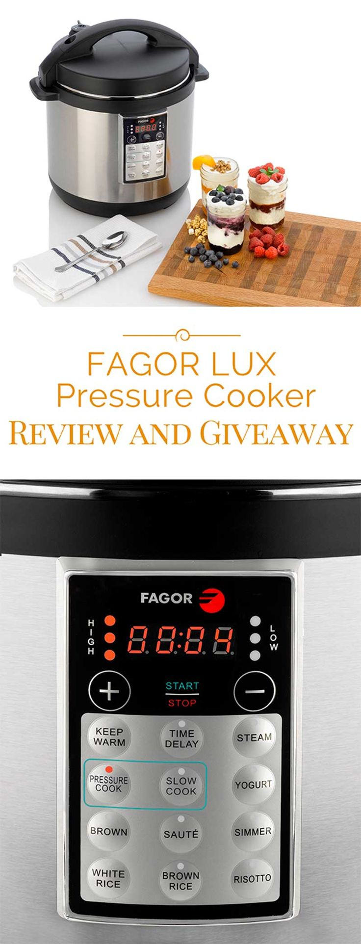 Buy fagor duo 8 quart pressure cooker from bed bath amp beyond - Fagor Lux 8 Quart Multi Cooker Review And Giveaway