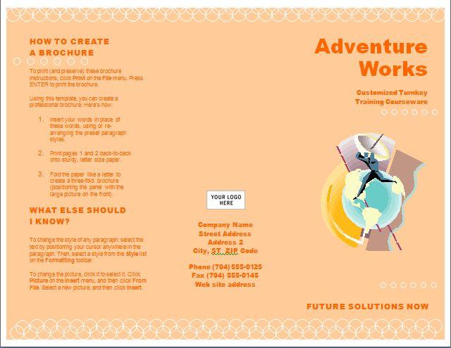 Pamphlet Sample pamphlet sample jobsbillybullock free pamphlet – Free Pamphlet Templates