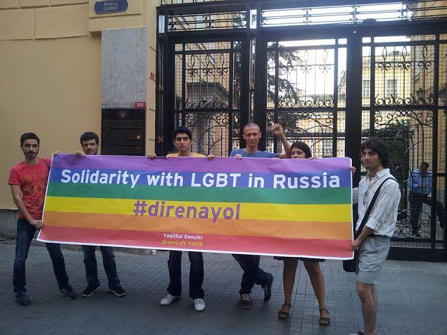 Rusya'da eşitlik ve özgürlük için mücadele eden LGBT'lerin yanındayız! - LGBT Gay Haber Eşcinsel Haber