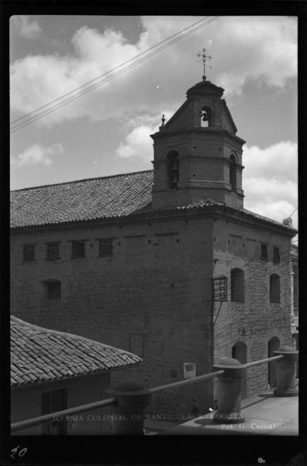 Iglesia Colonial de Santa Clara (Bogotá, Colombia) | banrepcultural.org