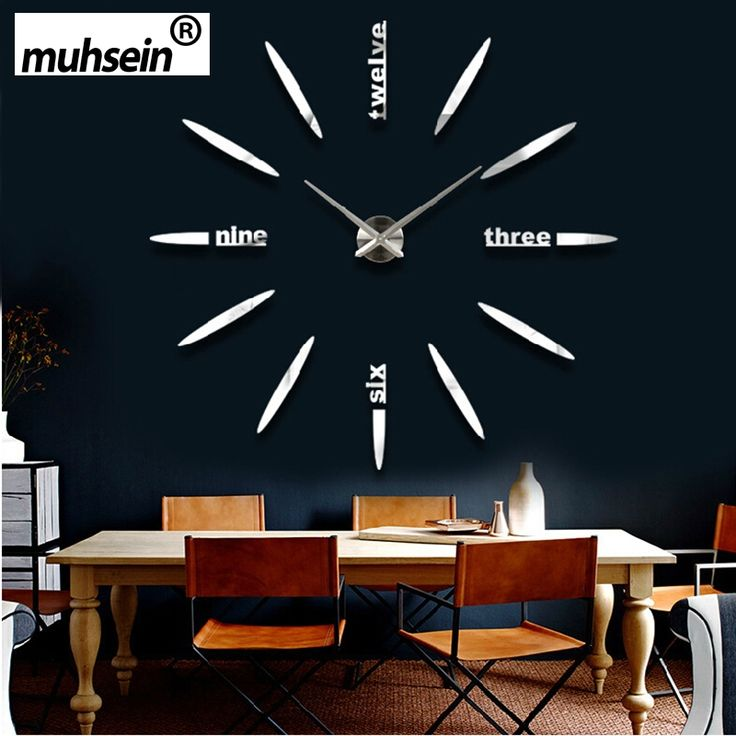 34 best Wall Clocks images on Pinterest Acrylic mirror, Mirror - wanduhr modern
