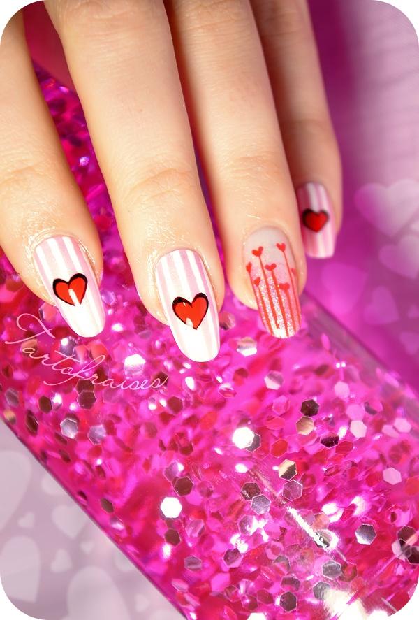 1000 id es sur le th me ongles saint valentin sur pinterest ongles pour la saint valentin art - Ongle st valentin ...