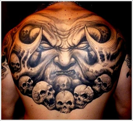 Tattoo Designs Evil: 35 Truly Evil Tattoos You Will NOT Forget