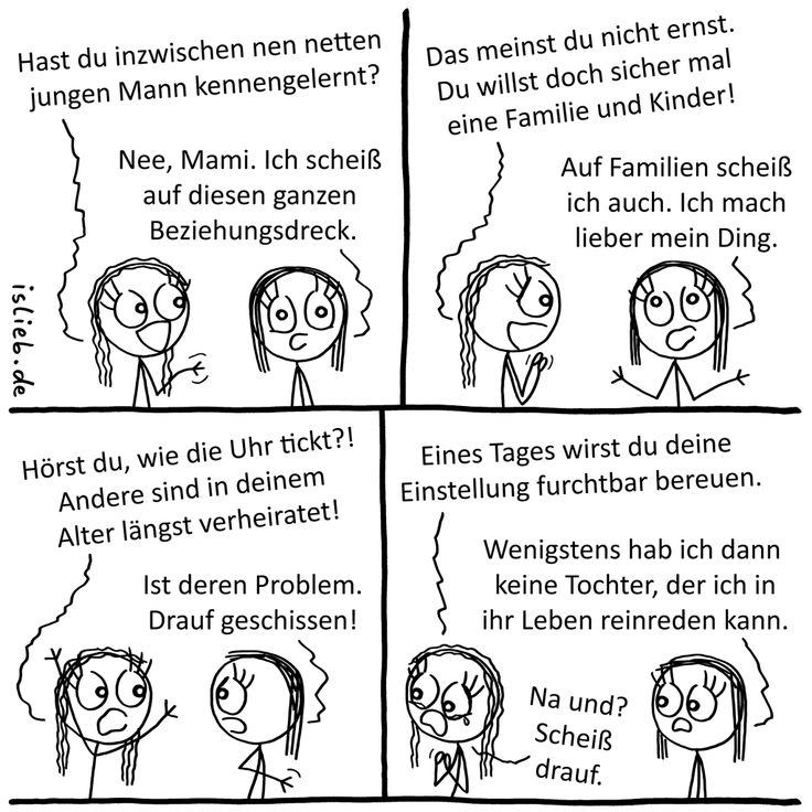 Familienplanung. Is lieb? | #familie #beziehung #mutter #tochter #eltern #comic #islieb